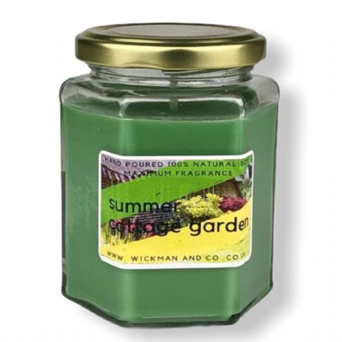 Summer Cottage Garden Soy Wax Candle